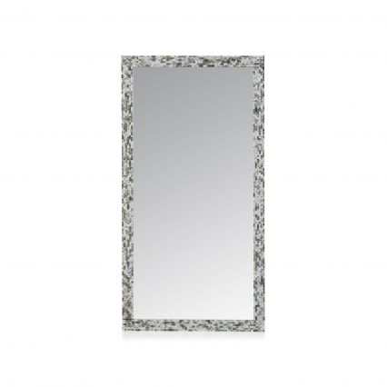 Bloom Rectangle Shell Mirror