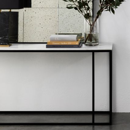 Nomad Marble Console Table
